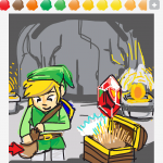 Pouch draw something
