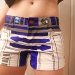 R2D2 Womens Shorts 1