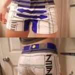 R2D2 Womens Shorts