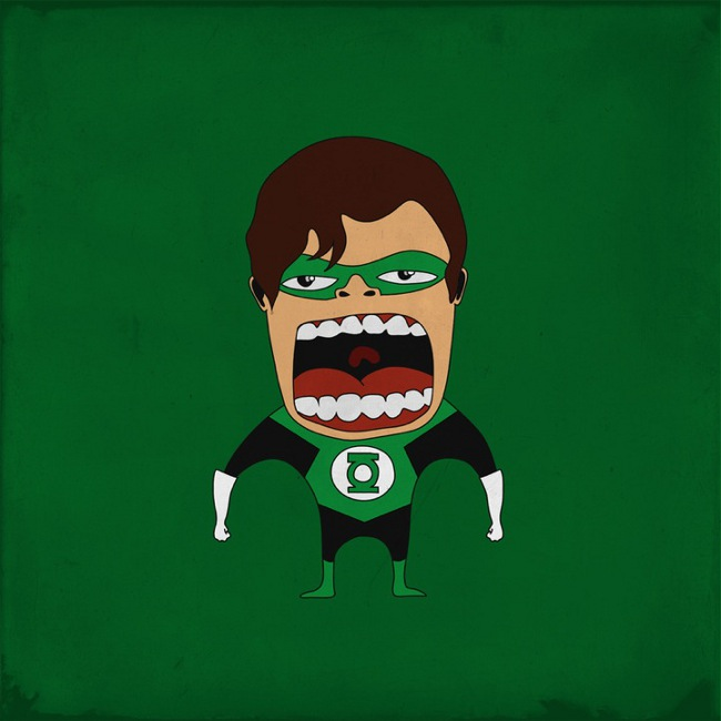 Screaming Green Lantern