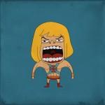 Screaming He-man