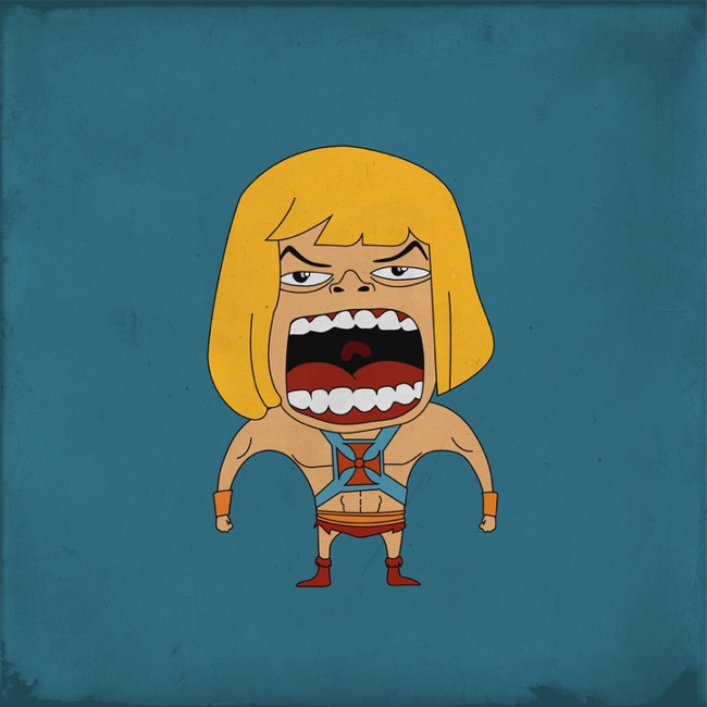 Screaming He-man