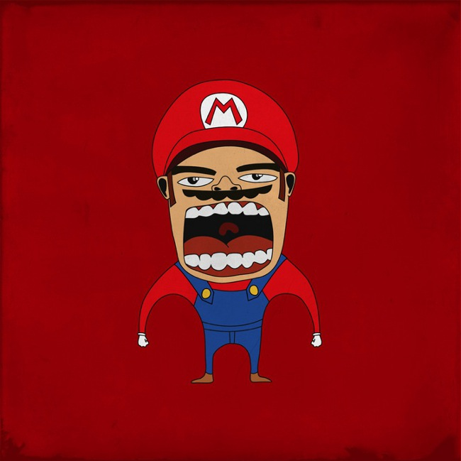 Screaming Mario