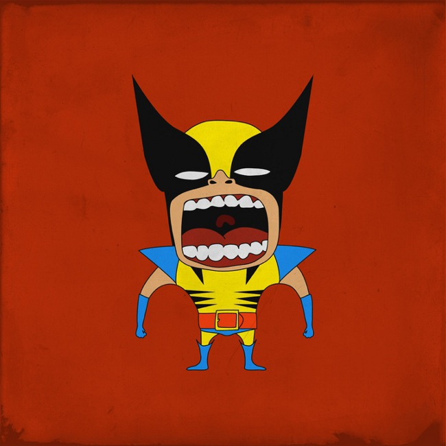 Screaming Wolverine
