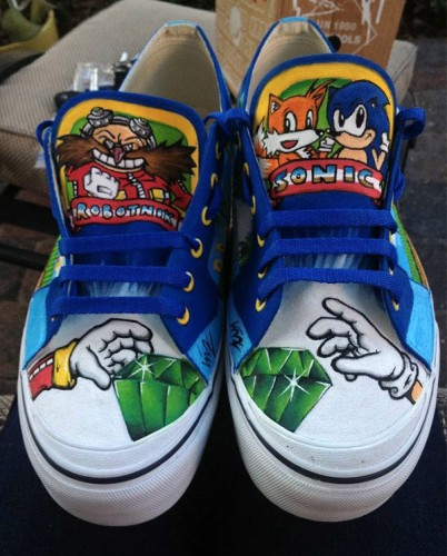 Sonic Shoes Image 1