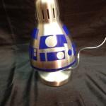 Star Wars Inspired R2D2 Lamp