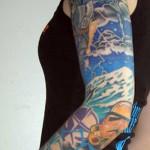 Star wars Sleeve Tattoo