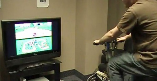 Super Mario Kart Exercise Bike Image