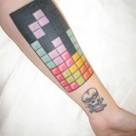 Tetris Tattoo