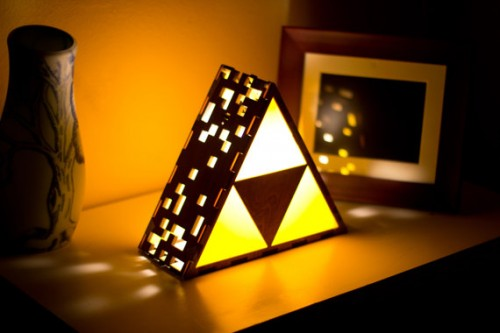 Triforce Lamp by TheBackPackShoppe Image 2