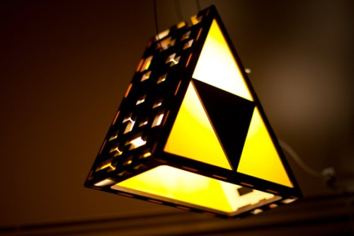 Triforce Lamp by TheBackPackShoppe Image 3