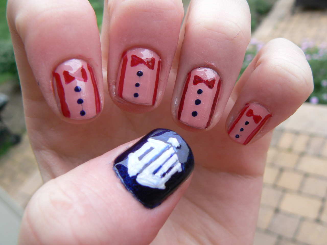 doctor who nails art | Walyou