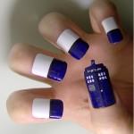 dr who nail art