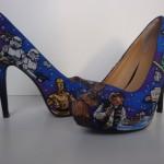 geeky star wars heels