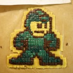 mega man pixel cookie