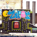 pacman street art 11