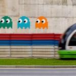 pacman street art 3