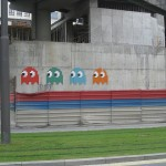 pacman street art 4