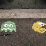 pacman street art 7