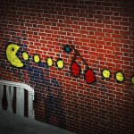 pacman street art 8