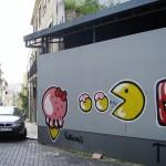 pacman street art 9
