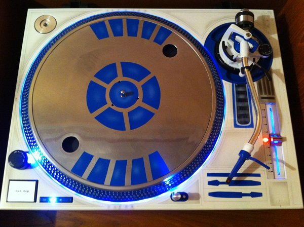 R2 D2 Turntable