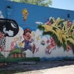 super mario graffiti steert art