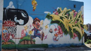 super mario graffiti steert art