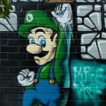 Luigi Mural