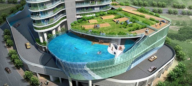 Swimming Pool balcony