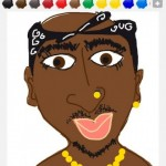 tupac draw something