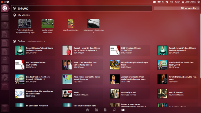 Ubuntu 12.04 HUD
