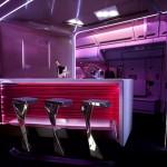 Virgin Atlantic's New Upper Class Cabin Bar