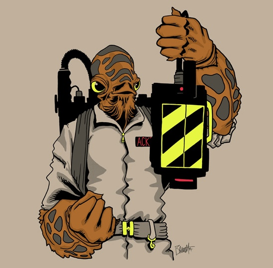 Ackbar Ghostbusters Shirt