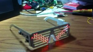 Arduino LED Glasses