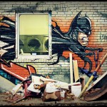 Batman Graffiti Art