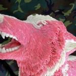 Chewing gum wolf