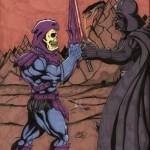 Darth Vader vs Skeletor