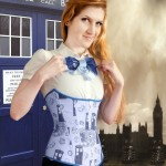 Doctor Who Tardis Inspired Corset