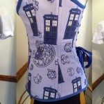 Doctor Who Tardis Inspired Corset 2