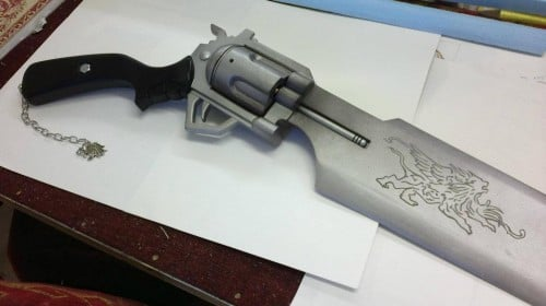 Final Fantasy VIII Dissidia gunblade by benmeetsworld Image 2
