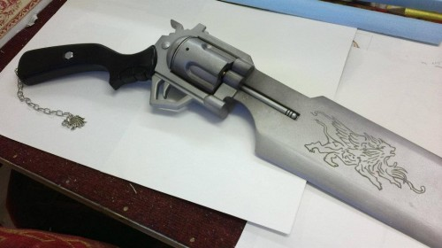 Final Fantasy VIII Dissidia gunblade by benmeetsworld Image 3