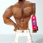 Funny Old Spice Guy Action Figure 2