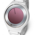 Kisai On Air Silver LED Watch