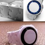 Kisai RPM Acetate White LED Watch