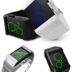 Kisai Satellite Black LED Watch