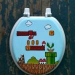 Mario Toilet Seat 1