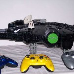 Millenium Falcon Xbox Case Mod 1