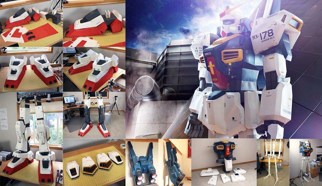 Papercraft-Gundam