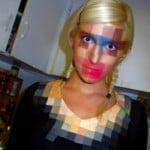 Pixel Makeup Shirt